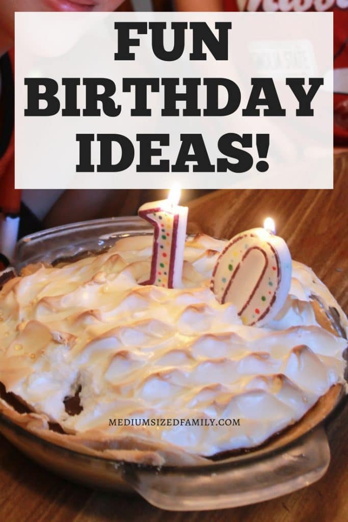 Click to get some awesome birthday ideas for kids, for adults, and for teens! These tips are a fun way to surprise the birthday boy or girl with a treat (and they're all super affordable, too!).