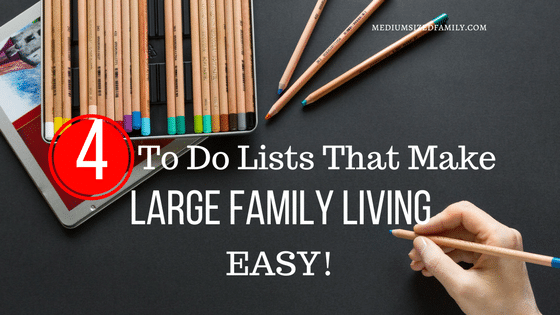 4 Easy Lists So You Can Organize Your Life