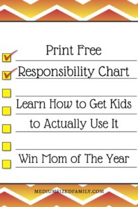 If you're tired of making responsibility charts only to abandon them two weeks later, here are the practical tips you need to make this one actually stick!