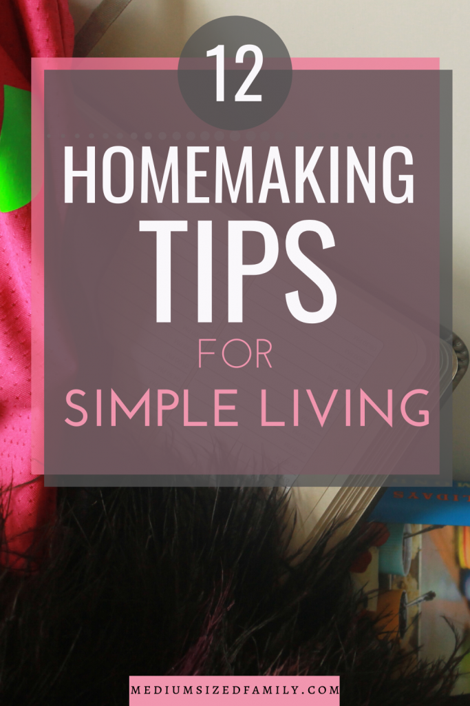 Get the homemaking tips every housewife needs for simple living. These easy ideas make your house a home. Every stay at home mom should use these tricks to keep the house clean.