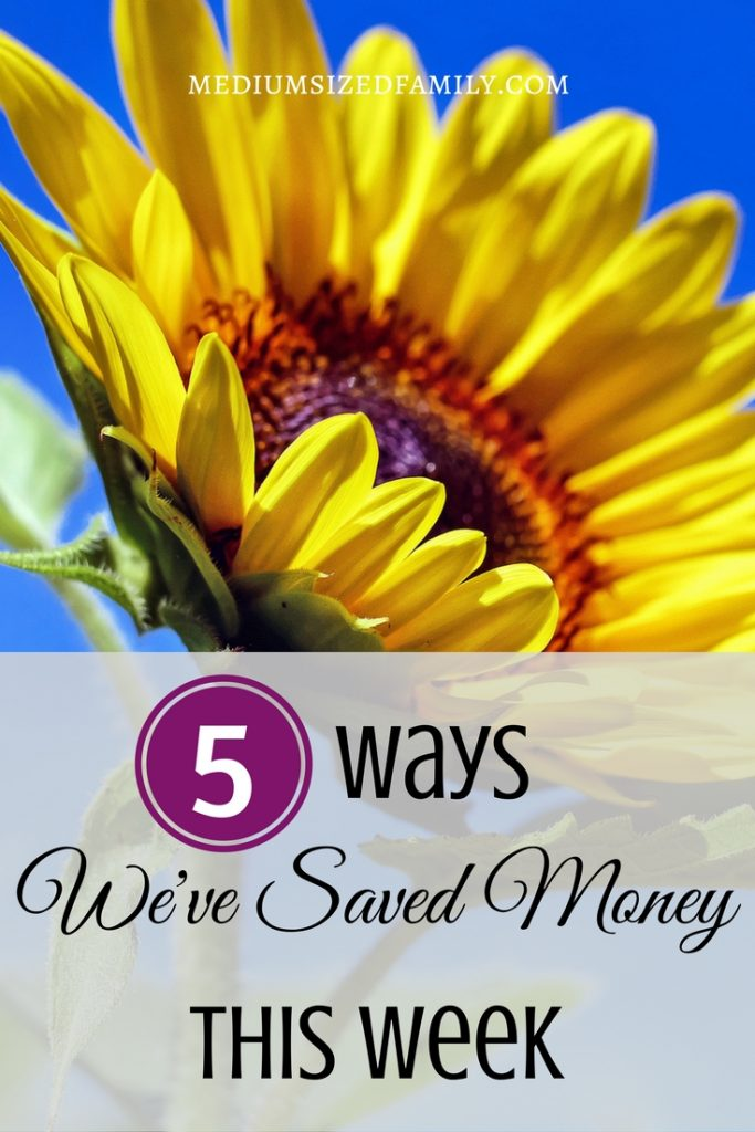 More money saving tips from a family paying off debt