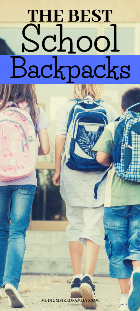 These are the Mom approved best school backpacks out there! They last for *years*!