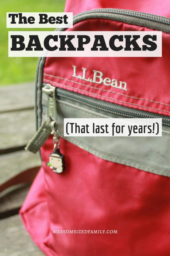 These backpacks that last are perfect for kids who are tough on stuff. When you're back to school shopping for bookbags, remember these brands to get the most for your money. You won't have to shop for backpacks for years if you choose the right bag!