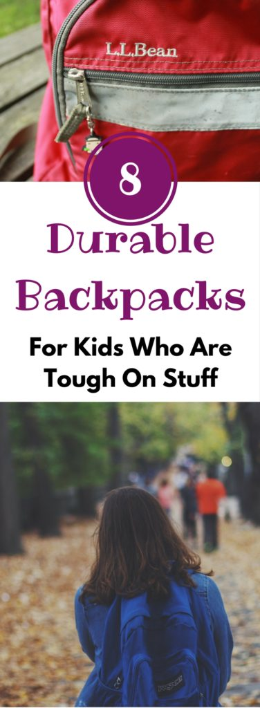 These are some good options if you need a durable backpack for your student this fall. I've used a few of these, and the quality is pretty awesome.