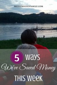 More ways this family is saving money so they can get out of debt