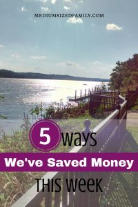 Get money saving tips for families from this blogger who talks about the ways her family saves money week after week!