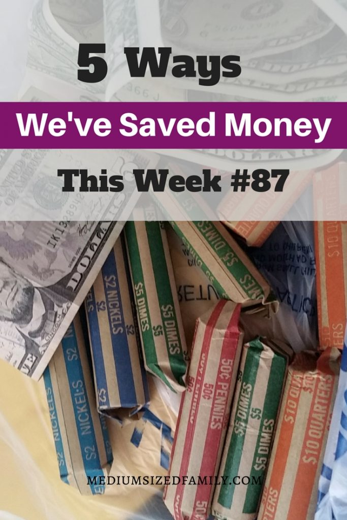Every Friday there are new money saving ideas on this blog! This family is paying off a ton of debt right now.
