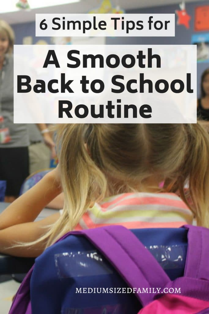 Back to school routines: These simple at home tips and ideas will help your kids pick back up on the school year without missing a beat!