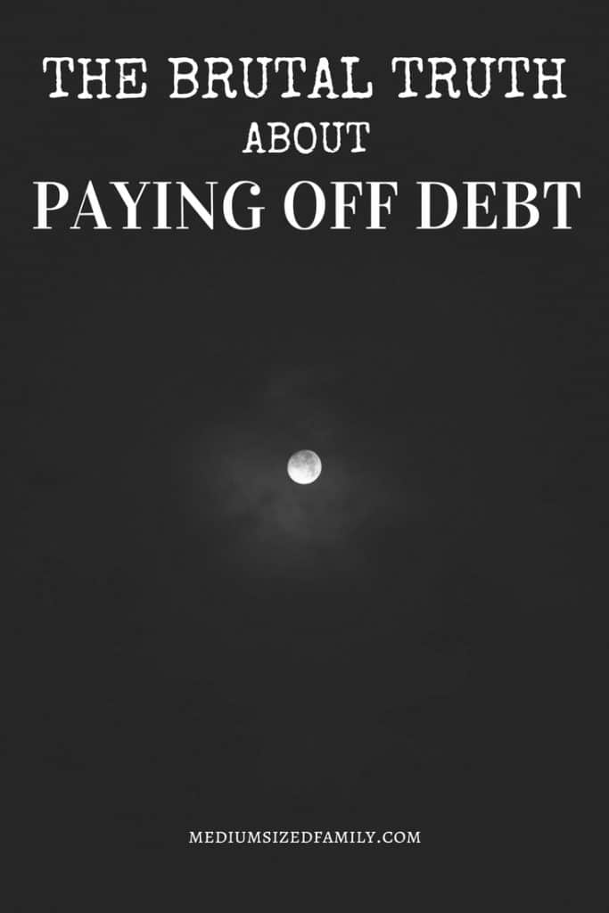 Debt payoff tips when you need motivation and feel like giving up.