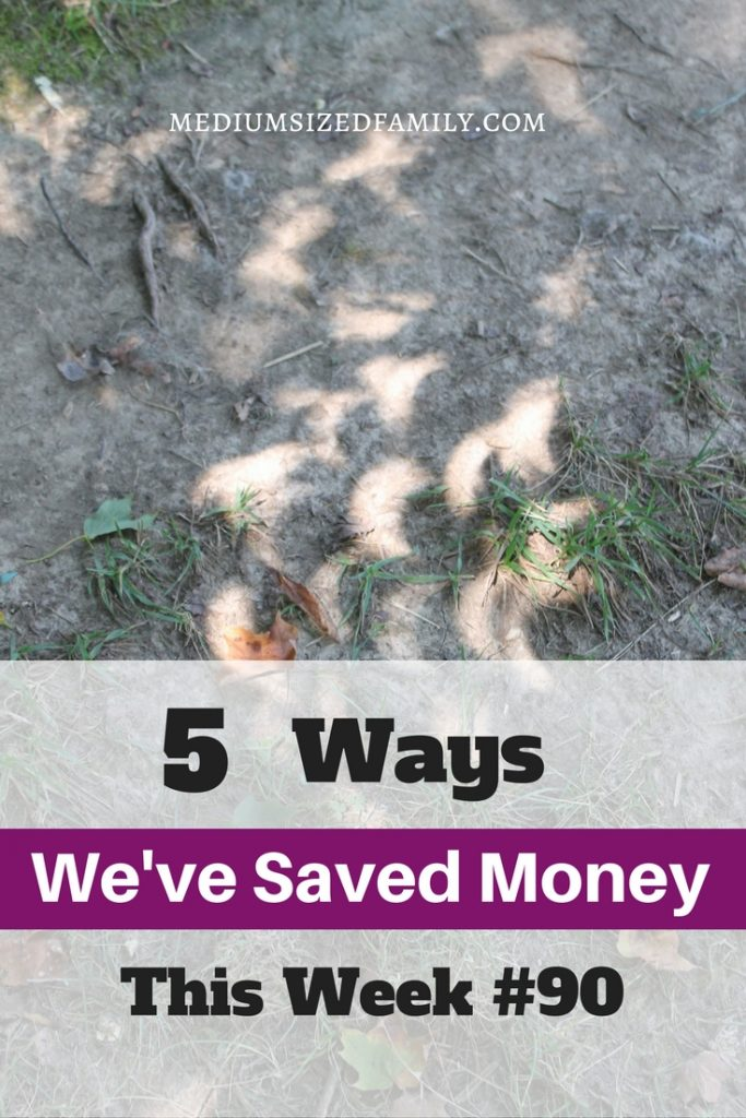 Different ideas for saving money...like putting the breaks on certain types of spending!