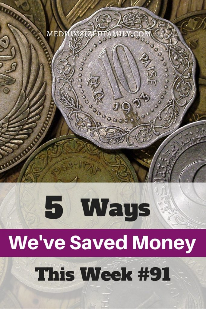 Ideas for saving money in daily life.