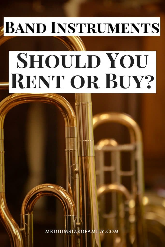 Beginning band instruments can be tricky. These back to school tips will help you decide if you should rent or buy that band instrument.