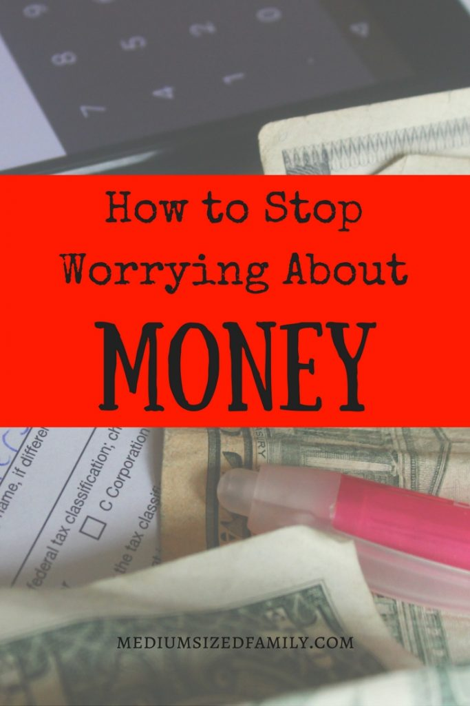 Learn how to stop worrying about money all the time so you can live your life without shame, whatever your circumstances are!