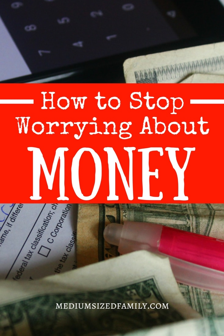 Learn how to stop worrying about money. You really can do things to help money worries.