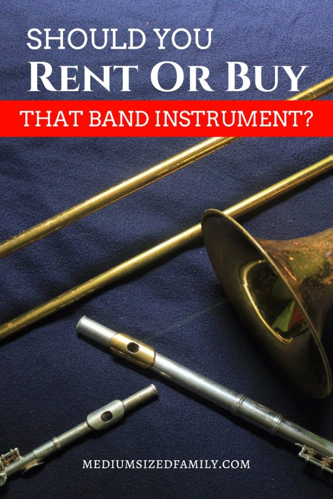 Should you rent or buy a school band instrument? You can save a bunch of money if you choose the right option!