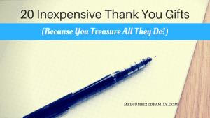 20 Inexpensive Thank You Gifts