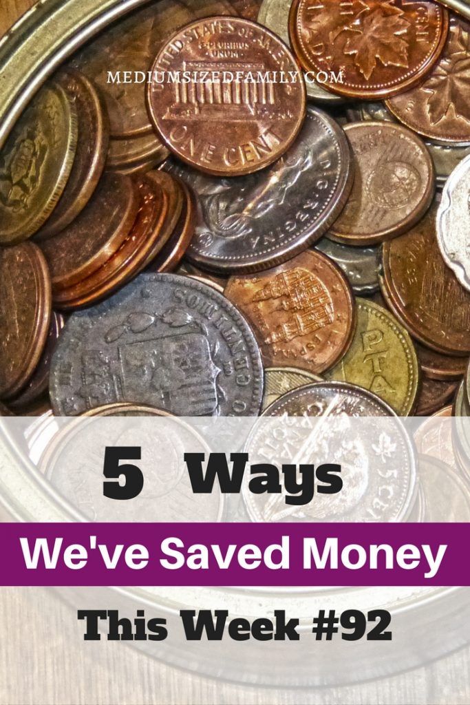 Ways you can save money in your home. This blogger shares more money savers every Friday, so check them all out!