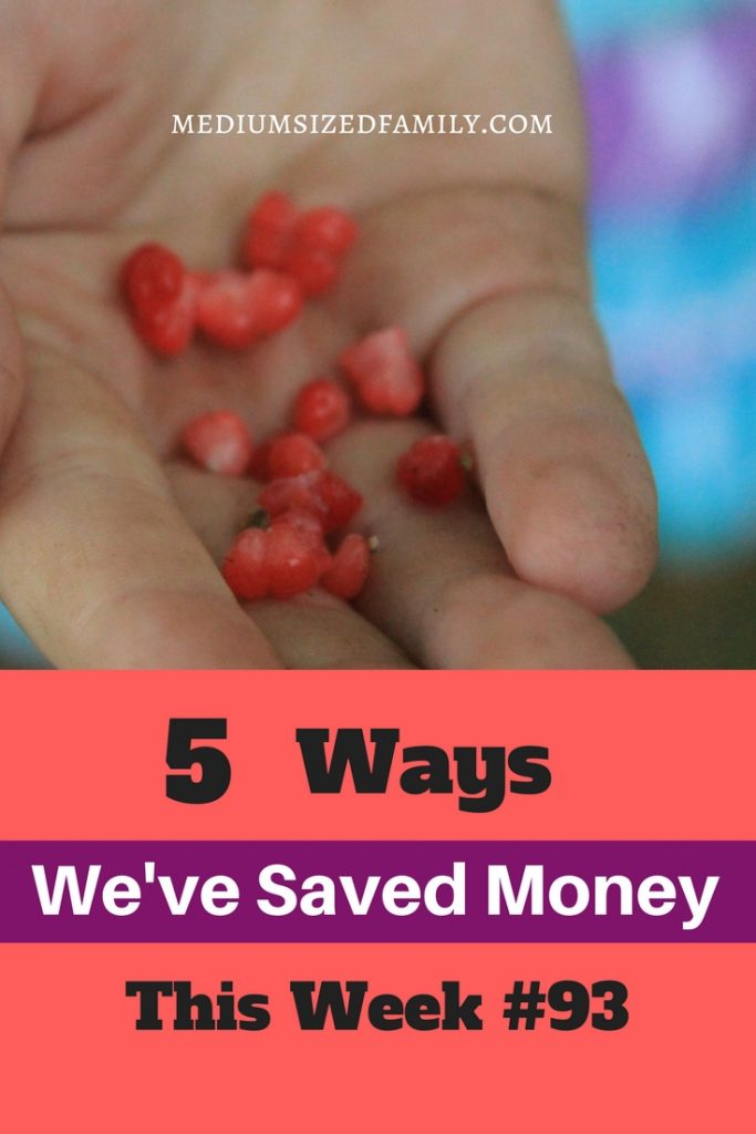 Ideas for saving money with your family.