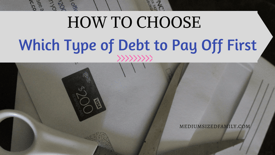 How to Choose Which Type of Debt to Pay Off First