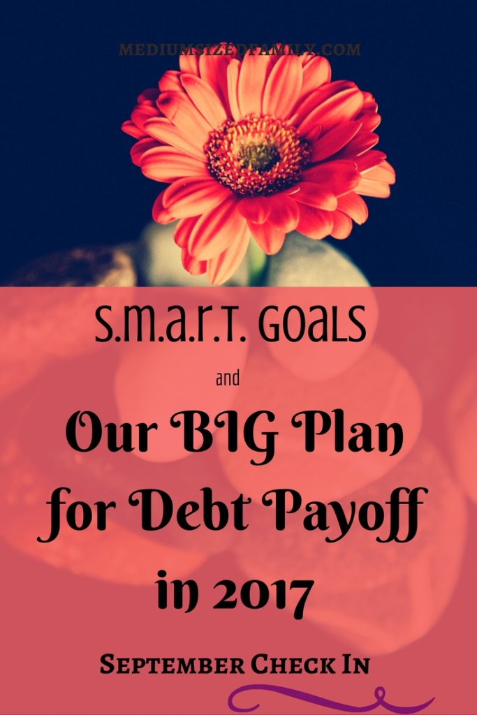 SMART goals are the best way to pay off debt with a plan.