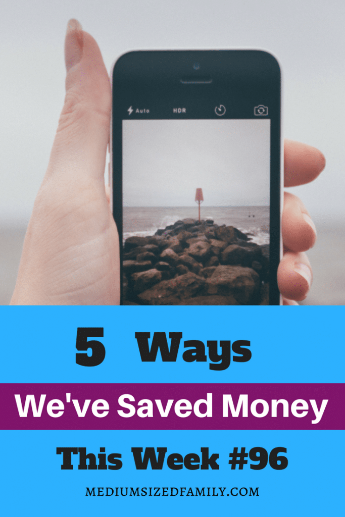 5 Ways We've Saved Money This Week: A series that looks at different ways to save cash week after week.