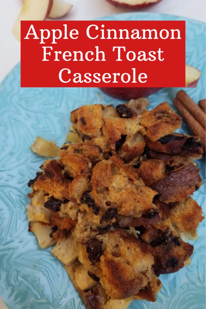 Apple Cinnamon French Toast Casserole, Apple Cinnamon French Toast Bake, easy apple recipe, delicious comfort food for breakfast