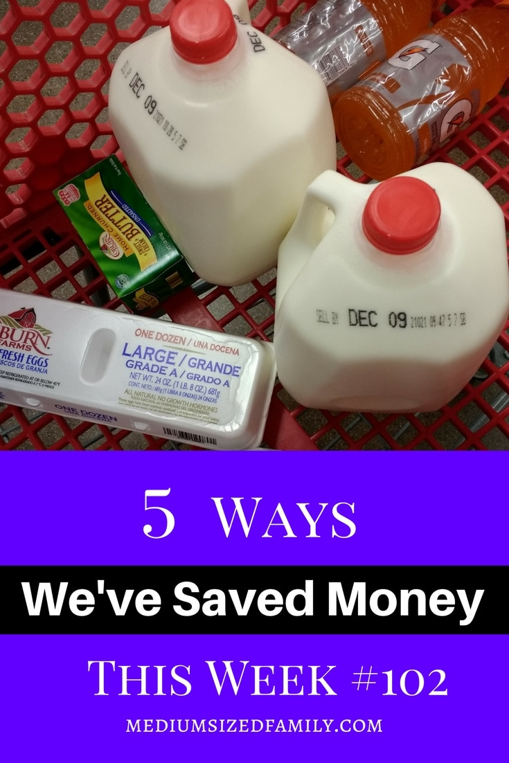 How to save money each week.