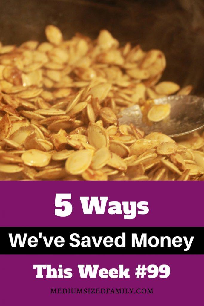 Money saving ideas for frugal living.