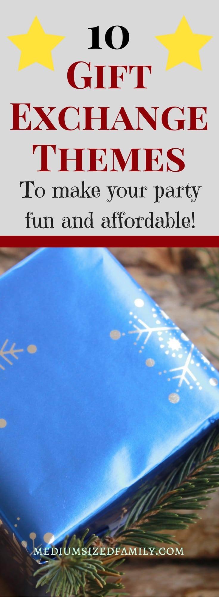 These ideas for gift exchange themes will make your Christmas party more fun than ever!
