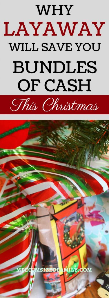 Learn how to save money on Christmas gifts. You'll be surprised at all the ways layaway will save you money!