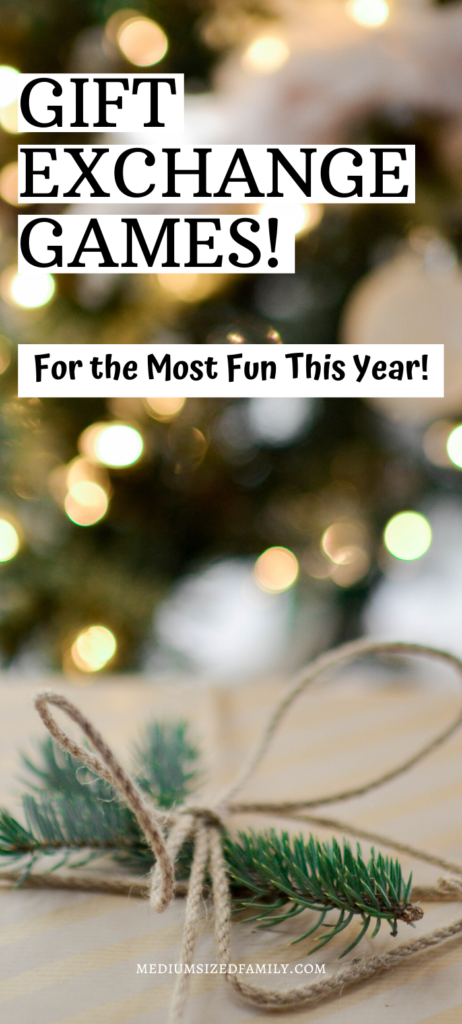 These gift exchange games have themes that your guests will love! A great Christmas idea that makes gift giving even more fun. Perfect for families and they're unisex for coworkers or large groups of friends.
