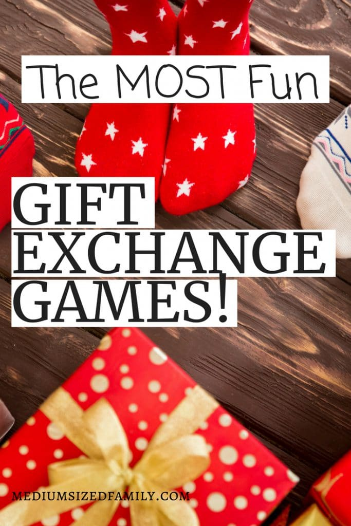 These gift exchange games have themes that your guests will love! A great Christmas idea that makes gift giving even more fun. Perfect for families and they're unisex for work or groups.