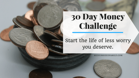 30 Day Money Challenge That Will Kick Start Your Savings for 2018