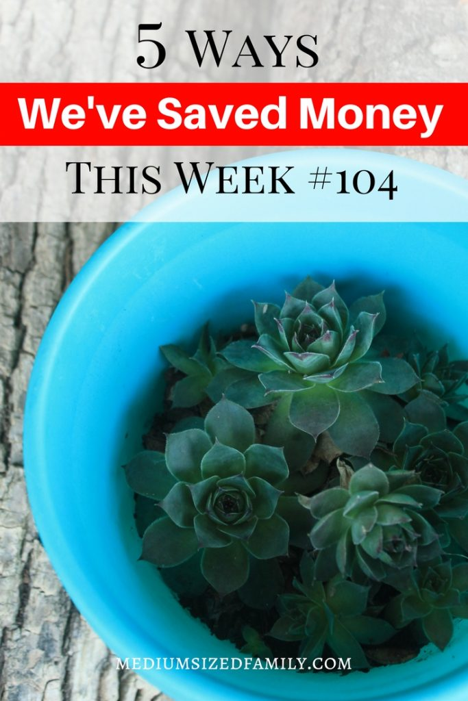 How to save money every week.