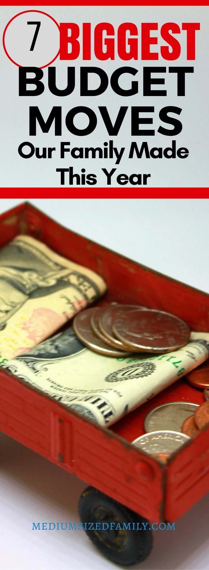 The best ways to save money and squeeze more from your budget.  #budgeting #savings
