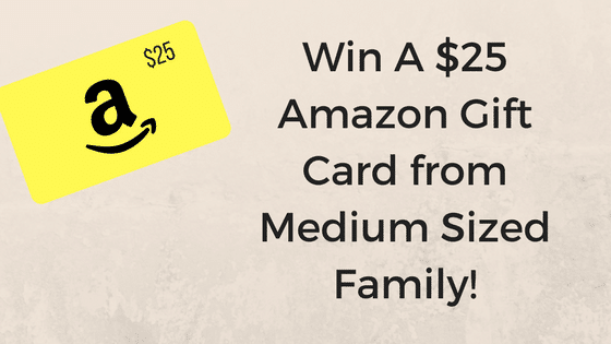 How To Enter to Win A $25 Amazon Gift Card!