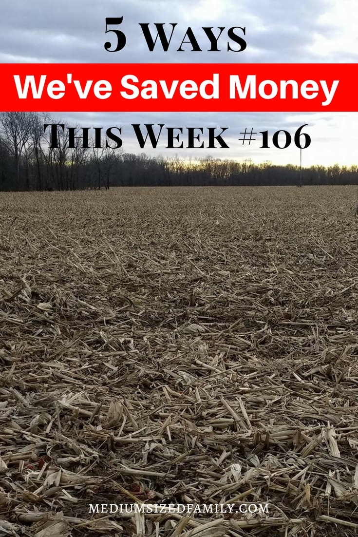 Ideas for saving money every week