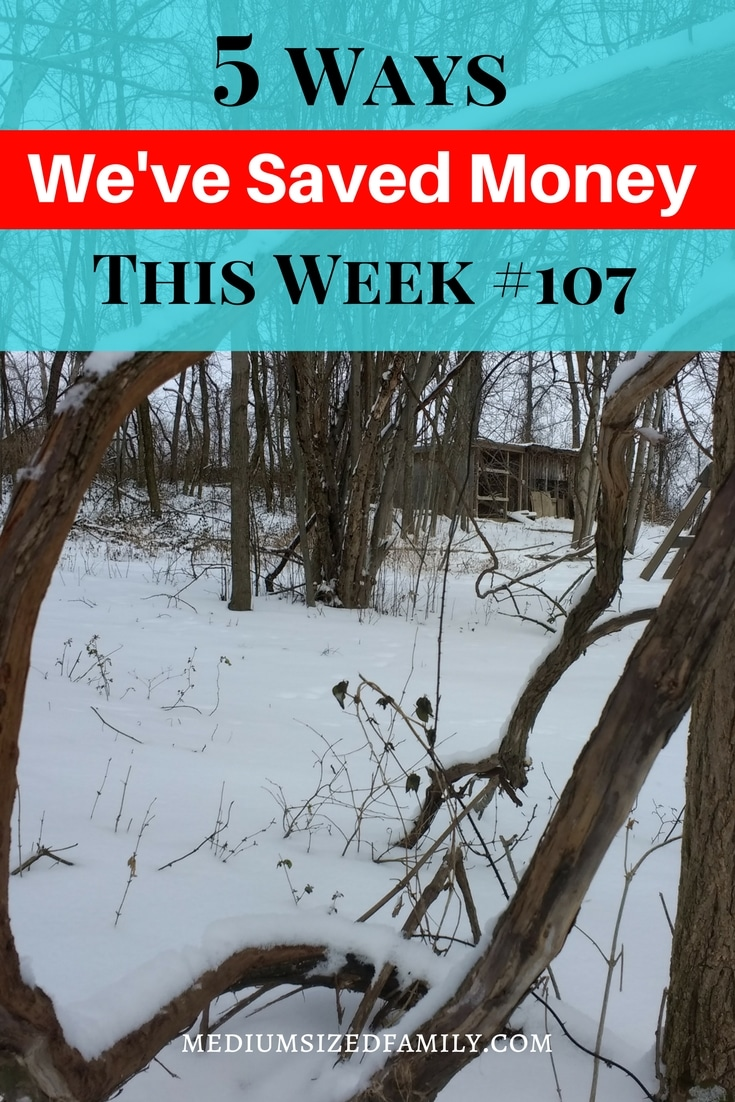 Every week, there's another 5 ideas for saving money on this blog!
