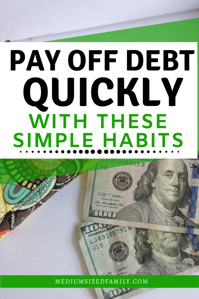 Pay off debt quickly with these habits and tricks so you can get rid of credit card debt and become debt free fast