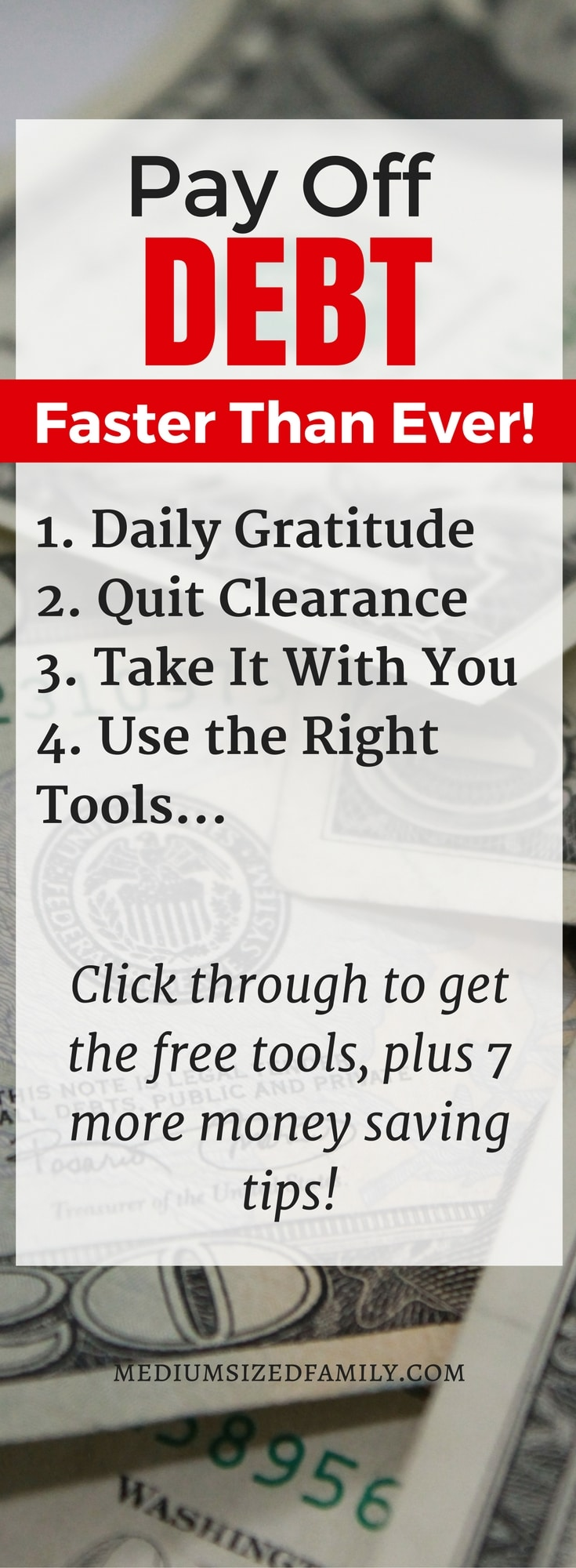 These debt payoff printables and habits will launch you out of debt!