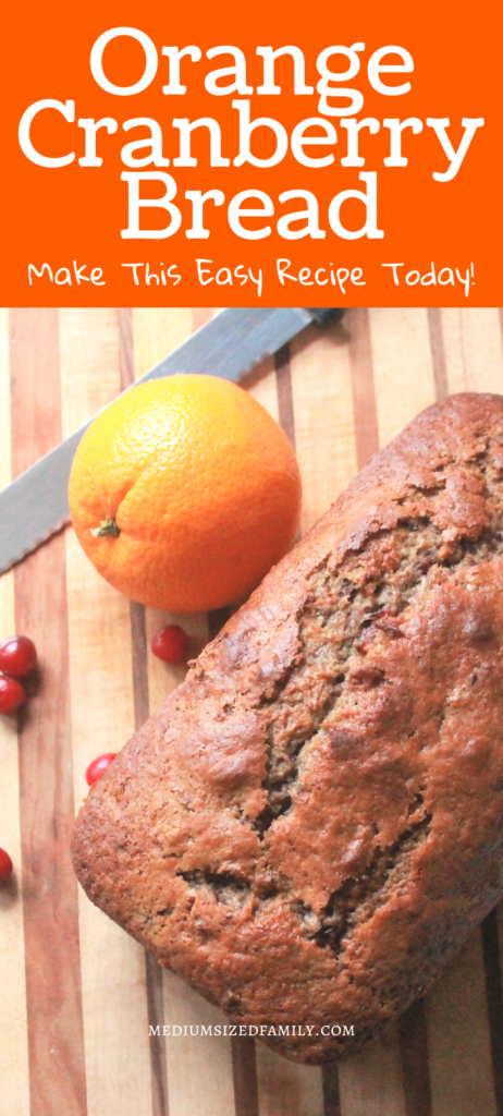 Grab this easy orange cranberry bread recipe and make this quick bread today! This is the best recipe for Christmas or any other event...yummy fall or winter breakfast, dessert, potluck recipe, or snack!