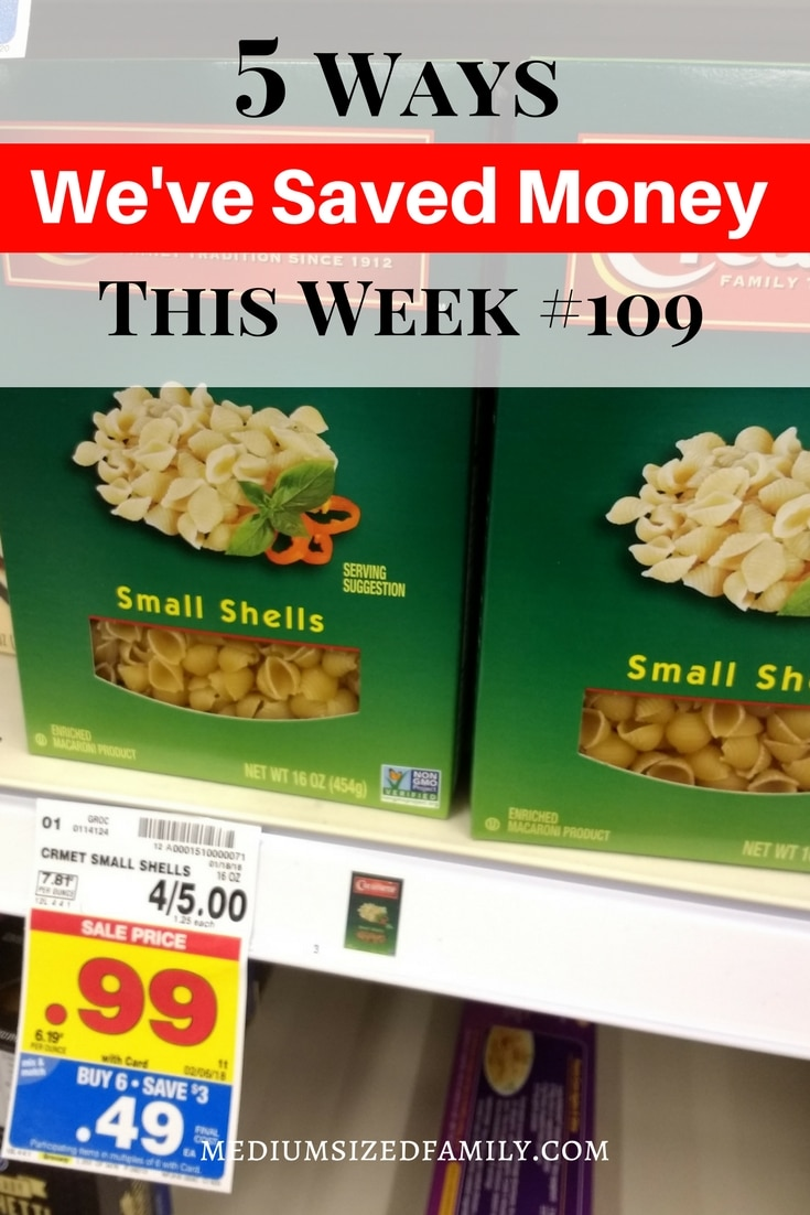 Ideas for saving the most money each week.