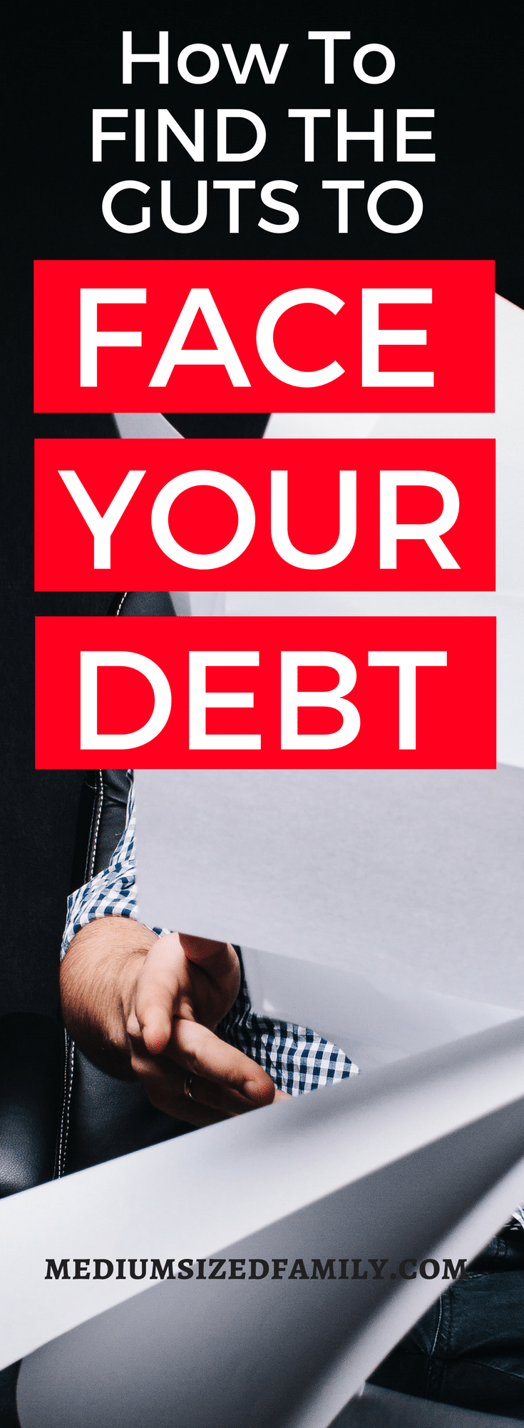 The first solution for debt is to find all of your bills. This is HARD! But with some help, you can totally do it. You'll love the feeling of taking control of your money.