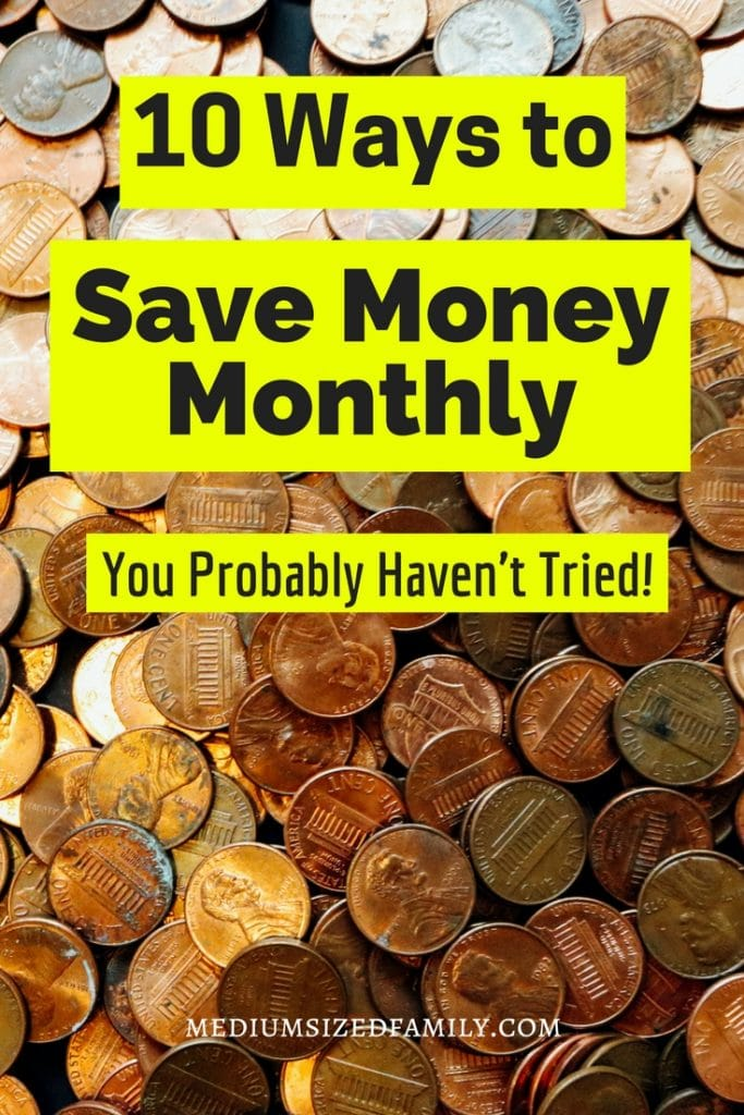 Ideas for saving money monthly. Tips and products that will save you tons of money in your life!