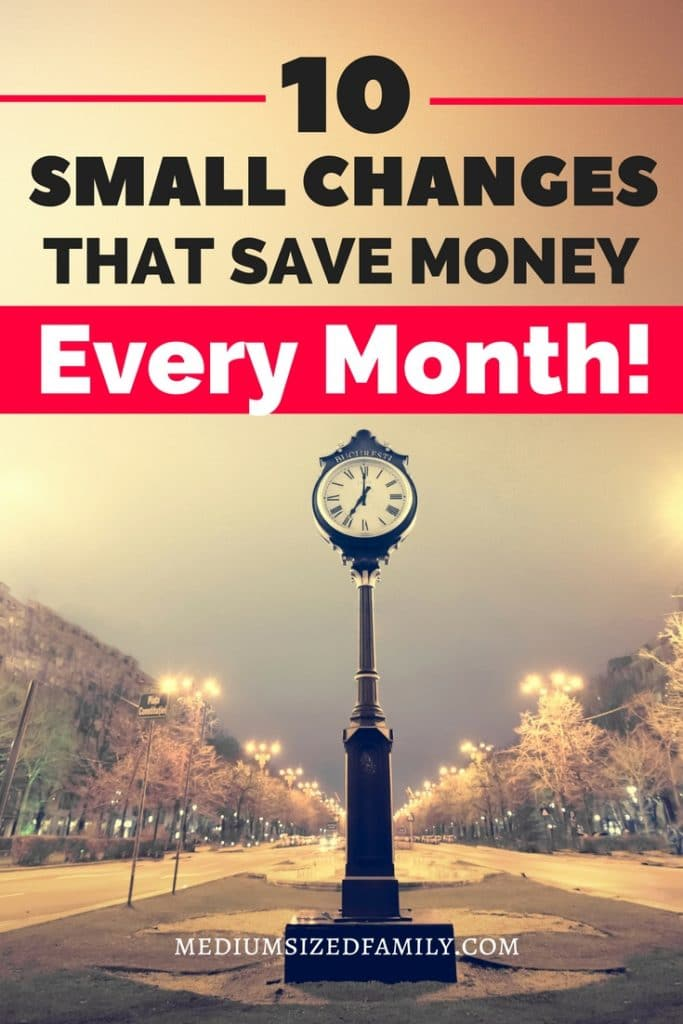 Saving money monthly is easy with these simple money saving ideas and tips. Your monthly family budget will grow while you save money on the things you have to have and grow your fun money!