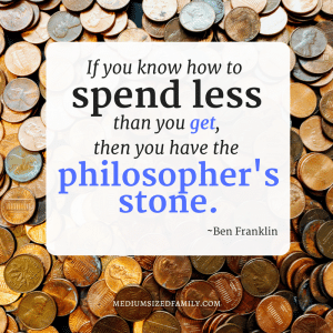 Ben Franklin quote about money