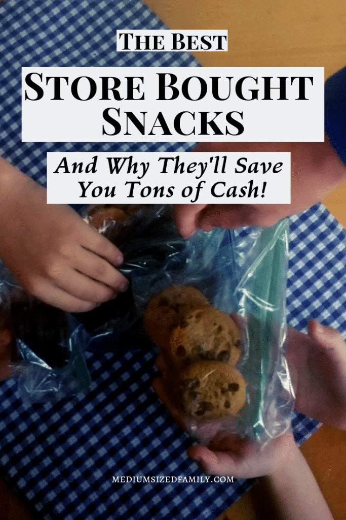 These store bought snacks will actually save you money if you know what to buy and how to use them!