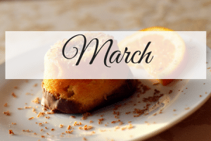 March Meal Plan
