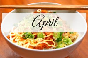 April Meal Plan