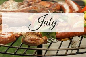 July Meal Plan